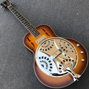 Grote Vintage Sunburst エレクトリックギター エレキギター スチール製エレクトリックギター 炎メープルトップ|kenji1980-store