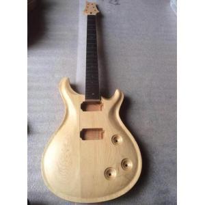ギターボディ ネックキット 未塗装 PRSタイプマホガニー・ネックキット 未完成 エレキギター 弦楽器 ギター製作 ギタービルダー 高品質|kenji1980-store