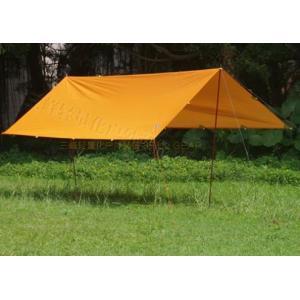 タープ テント 3F UL 897g 超軽量 ギア サンシェード サンシェルター テント 屋外 キャンプ サバイバル コーティング 防水 ビーチテント 3m×3m kenji1980-store