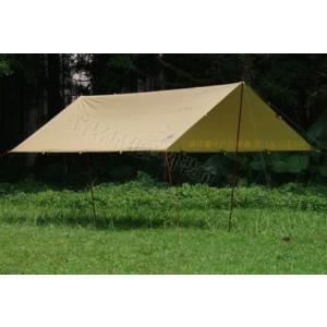 タープ テント 3F UL 1050g 超軽量 4m×3m ギア サンシェード サンシェルター テント 屋外 キャンプ サバイバル コーティング 防水 ビーチテント kenji1980-store