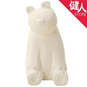 のんびり動物 アロマストーン 白クマ  - フリート|kenjin