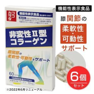 ココカラダ NEW 非変性2型コラーゲン(UC-2) 60粒×6個セット ※プレゼント付  - コーワリミテッド|kenjin