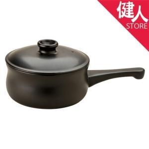 「マスタークック けんこう片手鍋(大)黒 1500ml」は、遠赤外線効果で美味しく調理ができる片手鍋...