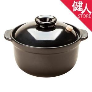 マスタークック 3合深鍋 黒 1.8L  - 健康綜合開発 kenjin