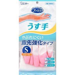ファミリー ビニール うす手 指先強化 S ピン...の商品画像
