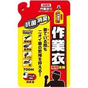 カネヨ石鹸 作業衣専用洗剤ジェル 詰替 700ml|kenjoy