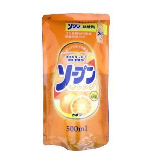 カネヨ石鹸 ソープンオレンジ 詰替|kenjoy