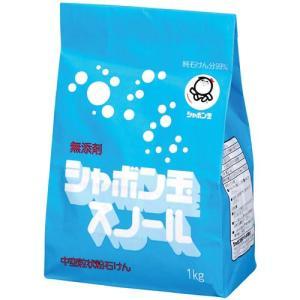 シャボン玉 粉石けんスノール 紙袋 1kg|kenjoy