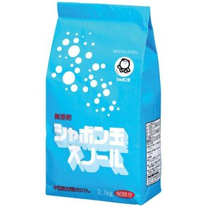 シャボン玉 粉石けんスノール 紙袋 2.1Kg|kenjoy
