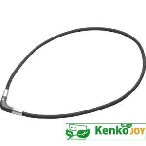 ラクワ (RAKUWA)磁気チタンネックレスVブラック 50cm