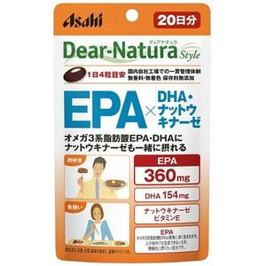 ディアナチュラ スタイル EPA×DHA・ナットウキナーゼ 80粒
