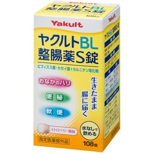 〇ヤクルトBL整腸薬S錠 108錠|kenjoy
