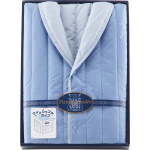 25%割引 ティツィアナ・ガロ ウォッシャブル羽毛ホームベスト(リバーシブルタイプ) (TGB-70BL) (ブルー)  (快気内祝 内祝 法要)|kenjya-gift
