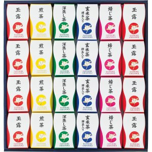 10%割引 静岡茶テトラパック詰合せ「SATSUKI」 (AZP-30)  (快気内祝 出産内祝 結婚内祝 香典返し 法要 お返し ギフト)|kenjya-gift