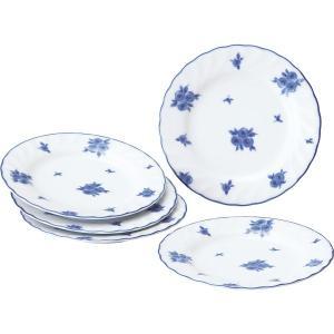 30%割引 プリンセスローザ プチケーキ皿5枚セット (28329)|kenjya-gift