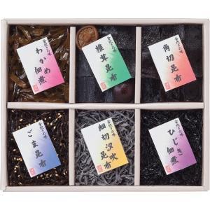 30%割引 廣川昆布 御昆布 佃煮6品詰合せ (J-20)|kenjya-gift