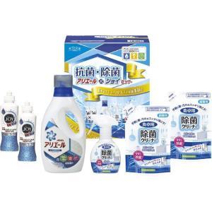 全国送料無料 ギフト工房 抗菌除菌・アリエール&ジョイセット (SAJ-25E)  (快気内祝 出産内祝 結婚内祝 香典返し 法要 お返し ギフト)|kenjya-gift