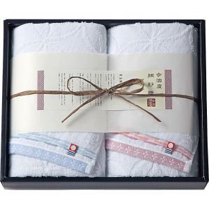 40%割引 今治綿紗織 フェイスタオル2枚セット (MOK-17200)  (快気内祝 出産内祝 結婚内祝 香典返し 法要 お返し ギフト)|kenjya-gift
