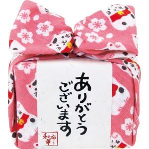 2019母の日おすすめ商品 和布華 あめはん(桜と招き猫)(THA-002-P)|kenjya-gift