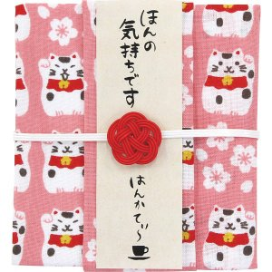 2019母の日おすすめ商品 和布華 はんかてぃ〜(招き猫(アップルティー))(THT-102)|kenjya-gift