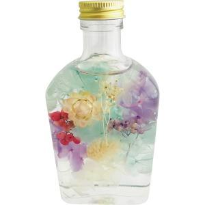 人気ギフト プレゼントにおすすめ ハーバリウム舞花(ブルー)(HB-SK-13) kenjya-gift
