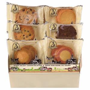 「ほっこりタイムにもってこい」ステラおばさんの直営店で特に人気のクッキー6種類を詰め合わせました。【...