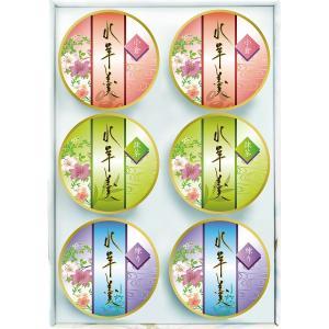 【初盆・新盆用 返品可】 水ようかんギフト(6個) (MZY-10S) (初盆 新盆 初盆用 感謝 お礼 ご返礼品 ギフト オススメ 志 返品可)|kenjya-gift
