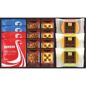 ドトールコーヒーと3種のバウムクーヘン (HKDK-16) (お見舞お返し 出産内祝 結婚内祝 香典返し お返し 内祝) kenjya-gift