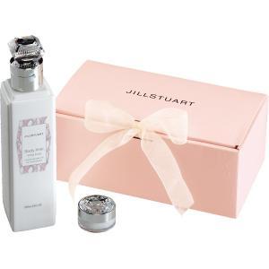 人気ギフト プレゼント・ギフトにおすすめ ジルスチュアート ボディミルク&リップバームセット (J-25)|kenjya-gift