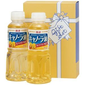 おすすめ人気ギフト 理研キャノーラ油セット(ORK-600) (快気祝 出産内祝 結婚内祝 香典返し)|kenjya-gift
