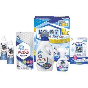 5%OFF おすすめ人気ギフト ギフト工房 抗菌除菌・アリエール&ジョイセット(SAJ-30E) (快気祝 出産内祝 結婚内祝 香典返し)|kenjya-gift
