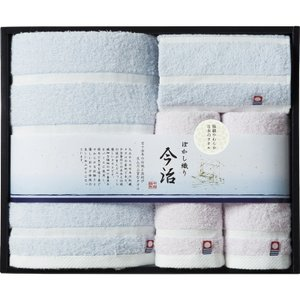 全国送料無料 5%OFF おすすめ人気ギフト 日本名産地 今治ぼかし織りタオルセット(TMS5006205)|kenjya-gift