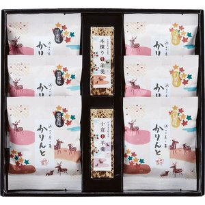 全国送料無料 人気ギフト 銀座鹿乃子 和菓子詰合せ(KYM-D) (ギフト対応無料)|kenjya-gift