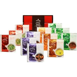 全国送料無料 人気ギフト 64℃ スープギフト(M-S15) (ギフト対応無料)|kenjya-gift