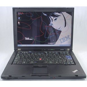 lenovo ThinkPad T61 リファービッシュPC 無線LAN OK 中古ノートパソコン|kenken-rescue