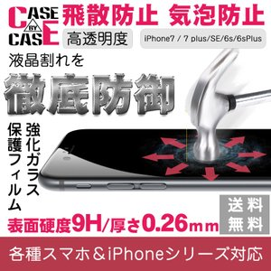 強化ガラスフィルム for iPhone7/ 7plus/6/6S/6plus/6splus/5/5s/iSE/XperiaZ5/Z5C/XZ/XPerformance/XCOMPACT/XA/Z5P 9H硬度0.26mm極薄 飛散防止 気泡防止|kenkenanto