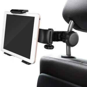 タブレットホルダー オーディオ用車載ホルダー 全て車後部座席適用 Tablet用 スタンド for iPad用 2/3/4/mini/air Galaxy Tab/Google Nexusn等対応 spddm|kenkenanto