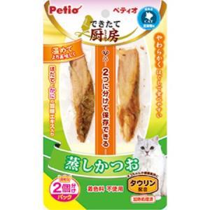 ◇ペティオ できたて厨房 キャット 蒸しかつお 35gの商品画像