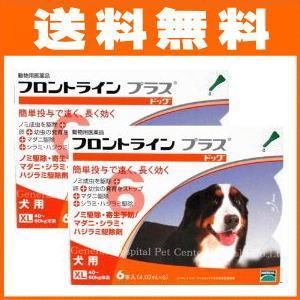 [最安値に挑戦中!] フロントラインプラス 犬用(ドッグ) XL [40〜60kg未満] 6本入2箱セット [医薬品 犬用]