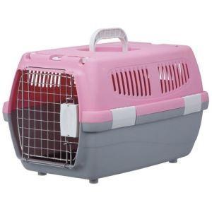 ★訳あり在庫処分特価 マルカン 2ドアキャリー小型犬・猫用ピンク[DP-173]