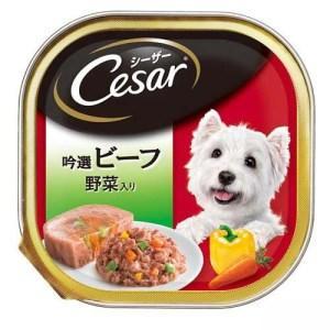 特価 マースジャパン シーザー 吟選ビーフ 野菜入り 100gトレイの商品画像|ナビ