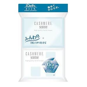 スコッティ カシミア ポケット 20枚×6P / ポケットティッシュ|kenko-depart