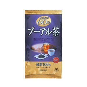 プーアル茶 徳用 3g×60包 |kenko-depart