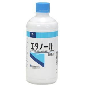 エタノール P 500ml  kenko-depart