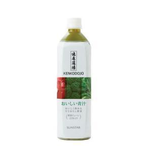 健康道場 おいしい青汁 900g×6本 / ペットボトル サンスター kenko-depart