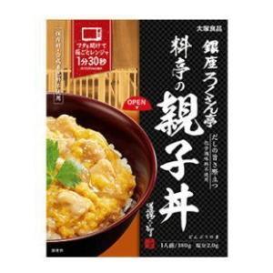 銀座ろくさん亭 料亭の親子丼 180g|kenko-depart