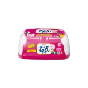 ピジョン 手・くちふきとりナップ BOX 70枚|kenko-depart