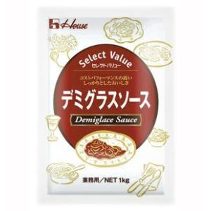 ハウス食品 セレクトバリュー デミグラスソース 1kg  |kenko-depart