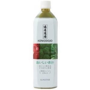 健康道場 おいしい青汁 900g×6本 / ペットボトル サンスター|kenko-departs