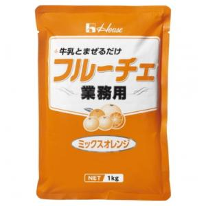 ハウス フルーチェ ミックスオレンジ  1kg |kenko-departs